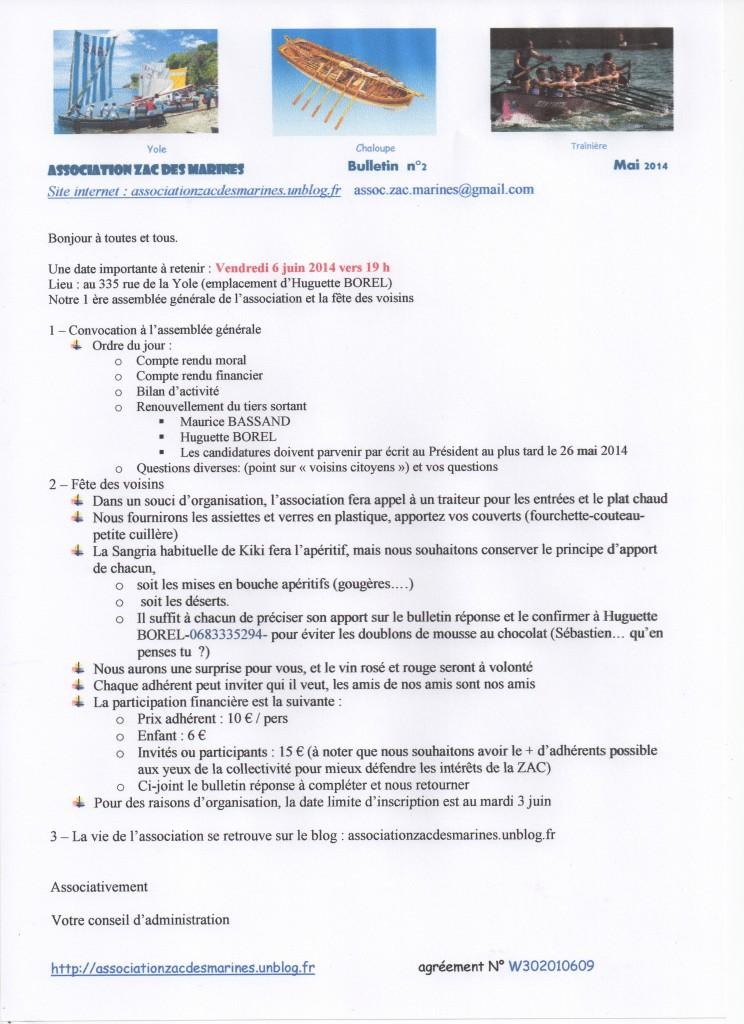 MARINES BULLETIN 2